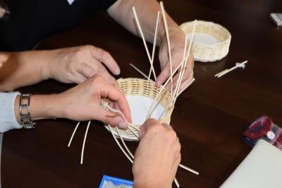 Technika výroby košíkov z prútia