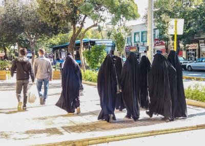 Foto: PhDr. Tomáš Cvrček - Íránske ženy (2019)