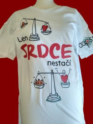 b0073e624137a Objednajte si tričká ku kampani ,,Len srdce nestačí!