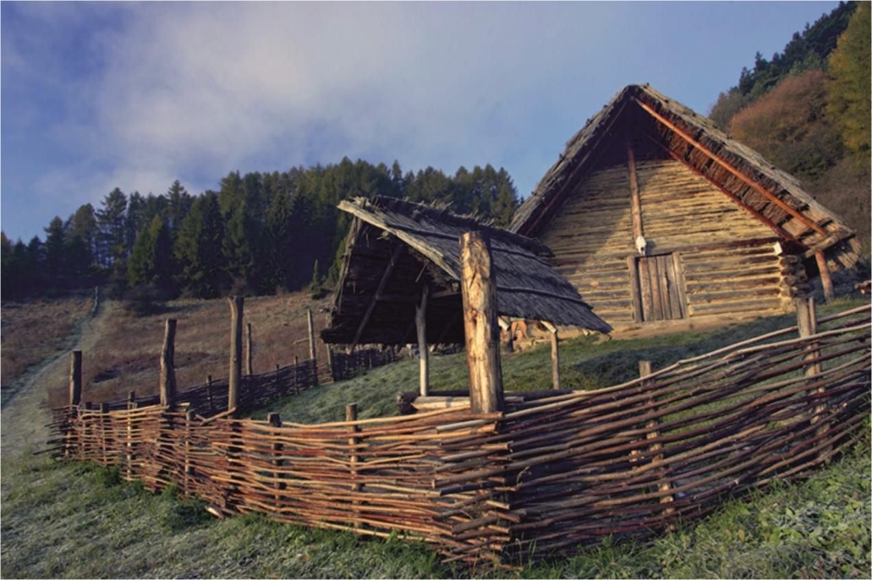 Obr.3. Archeologické múzeum Liptovská Mara – Havránok.