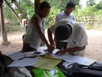 Podpisovanie zmluvy o sociálnej pomoci