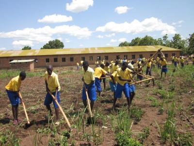 Vyškolení farmári si raz môžu zabezpečiť nielen vlastné živobytie.:  Foto: Archív SAVIO