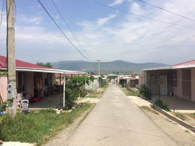Inside the IDP re-settlement in Tserovani
