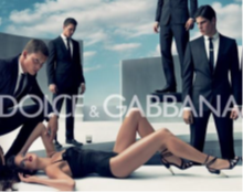 Pic. 1: Advertisement No. 1 - Dolce & Gabbana