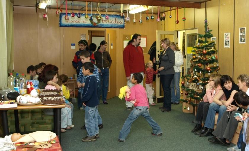 Vianočný večierok klientov v pôvodných priestoroch